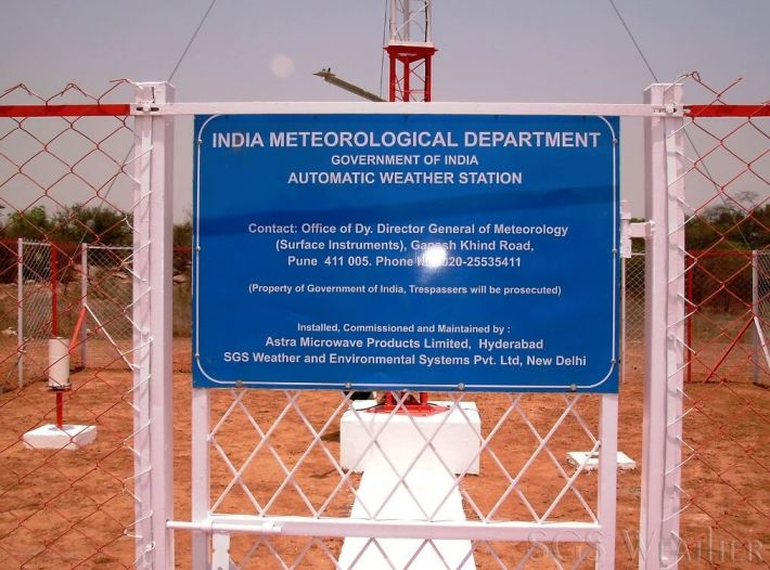 automatic weather station Indian meteorological department